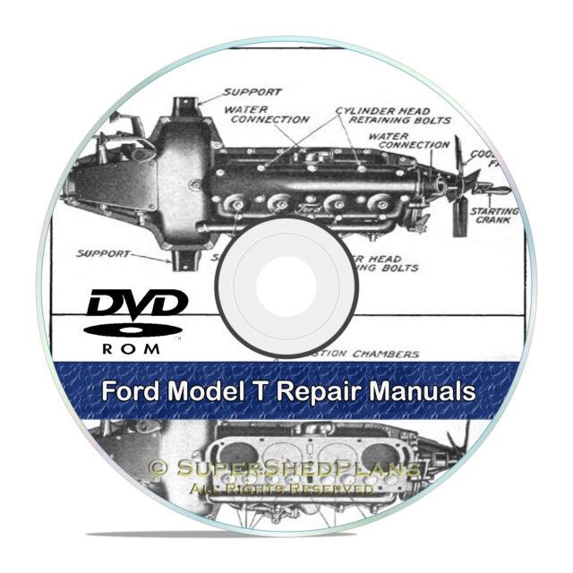 ford model t shop repair manuals construction operation guides cd rh ebay com ford model t workshop manual Chilton Manuals