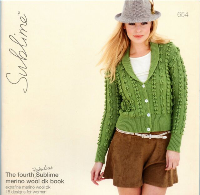 The Fourth Fabulous Sublime Merino Wool Dk Book 654 Paperback 15