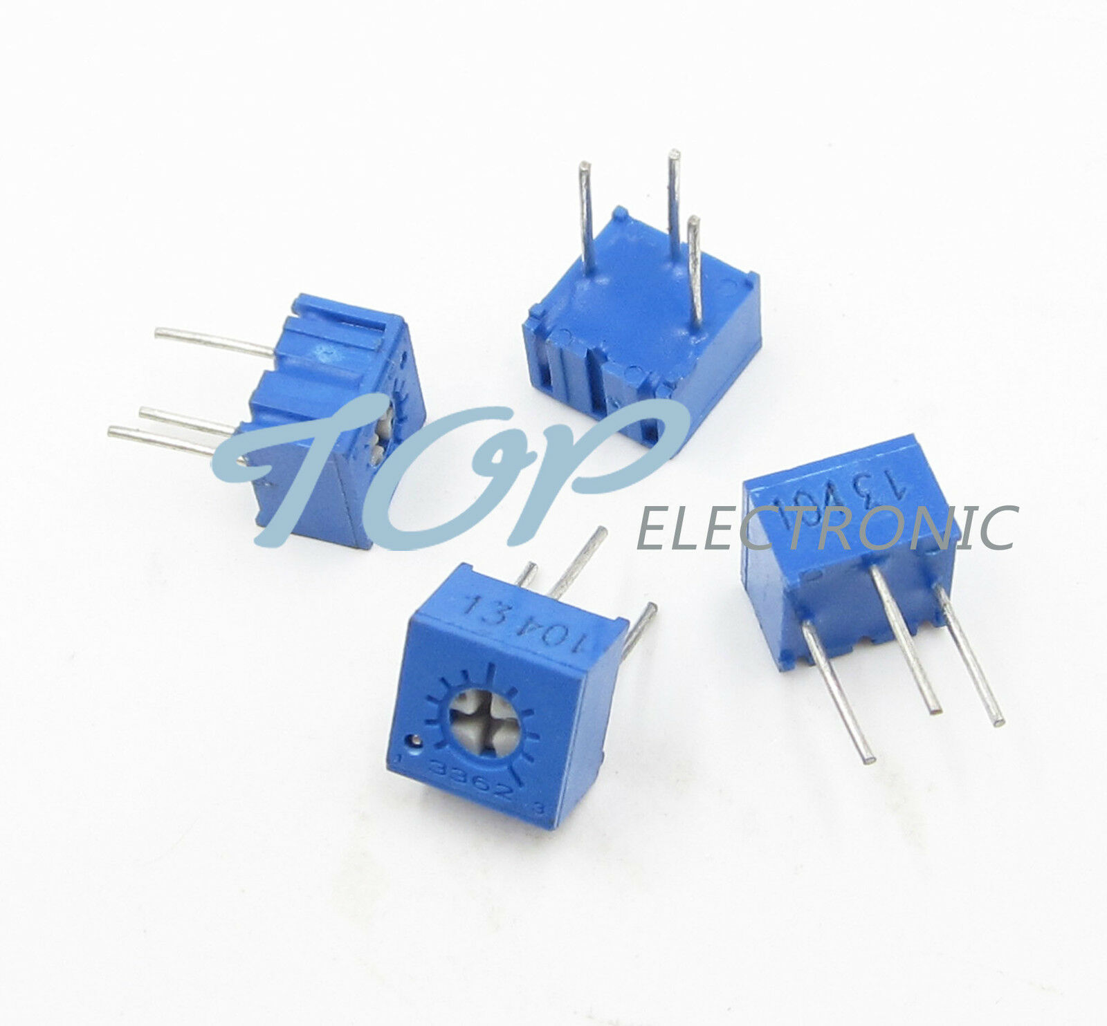 10pcs 3362p 204 3362 P 200k Ohm High Precision Variable Resistor Potentiometer Wiring Picture 1 Of