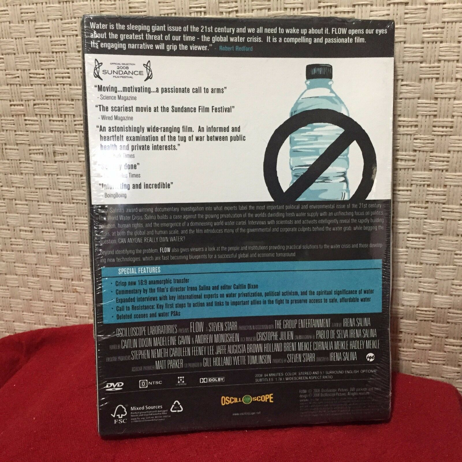 FLOW: For Love of Water (DVD, 2008)   eBay