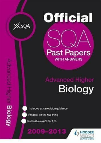 SQA Past Papers 2013 Advanced Higher Biology by Sqa Book The Cheap Fast Free