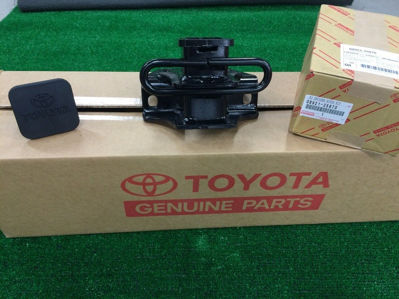 s l1600 2007 2014 toyota fj cruiser class 3 oem tow hitch & wiring harness fj cruiser oem hitch wiring harness at bakdesigns.co