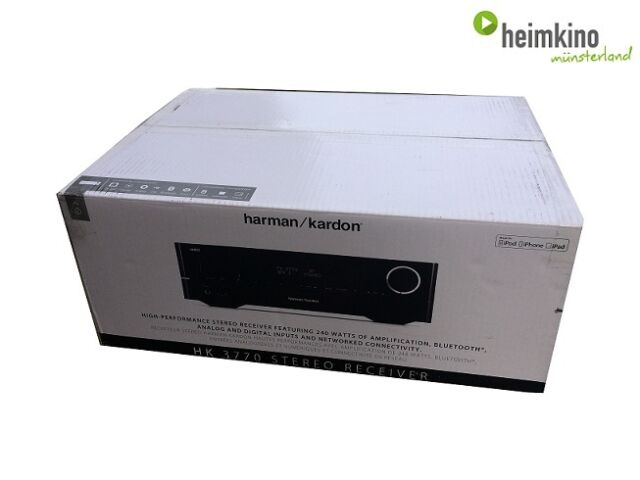 Harman Kardon HK3770 AV-Receiver, Spotify (Schwarz) NEU Fachhandel