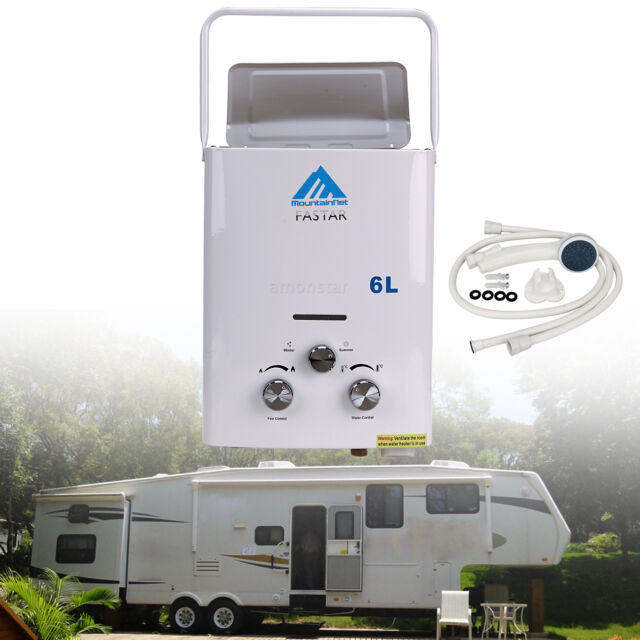 Lpg 6l Portable Tankless Camping Propane Rv 12 Volt Hot