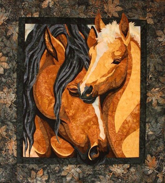 Toni Whitney Design Pride And Joy Horse Applique Quilt Pattern Ebay
