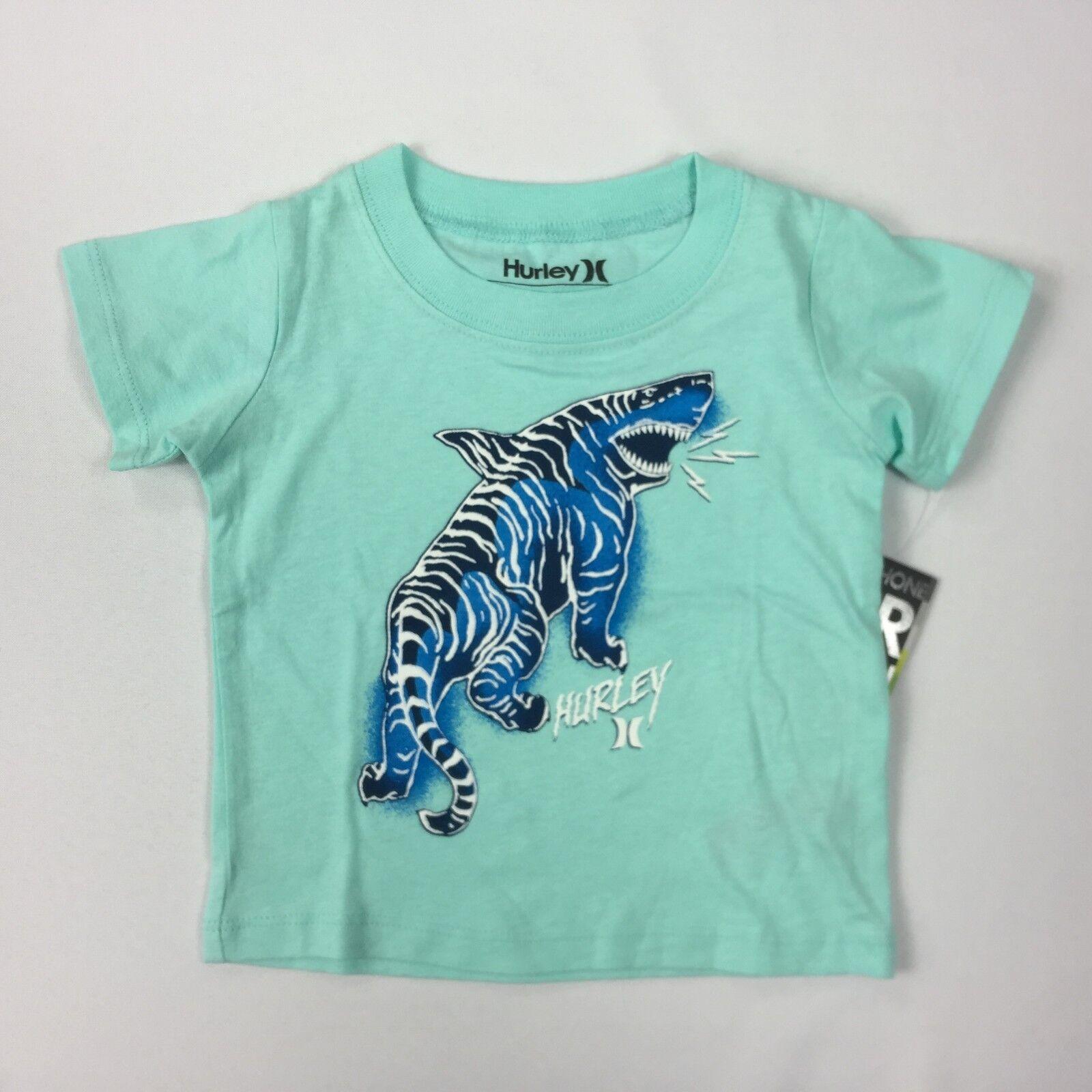 Baby Boy Hurley T shirt MINT Tiger Shark 24 M