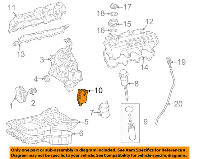 MERCEDES Mercedes-Benz OEM 03-04 C320 3.2l-v6-engine Oil Cooler ...