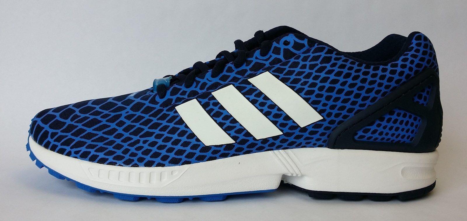 Adidas Zx Fluks Svart Mens Størrelse 9 IyS511