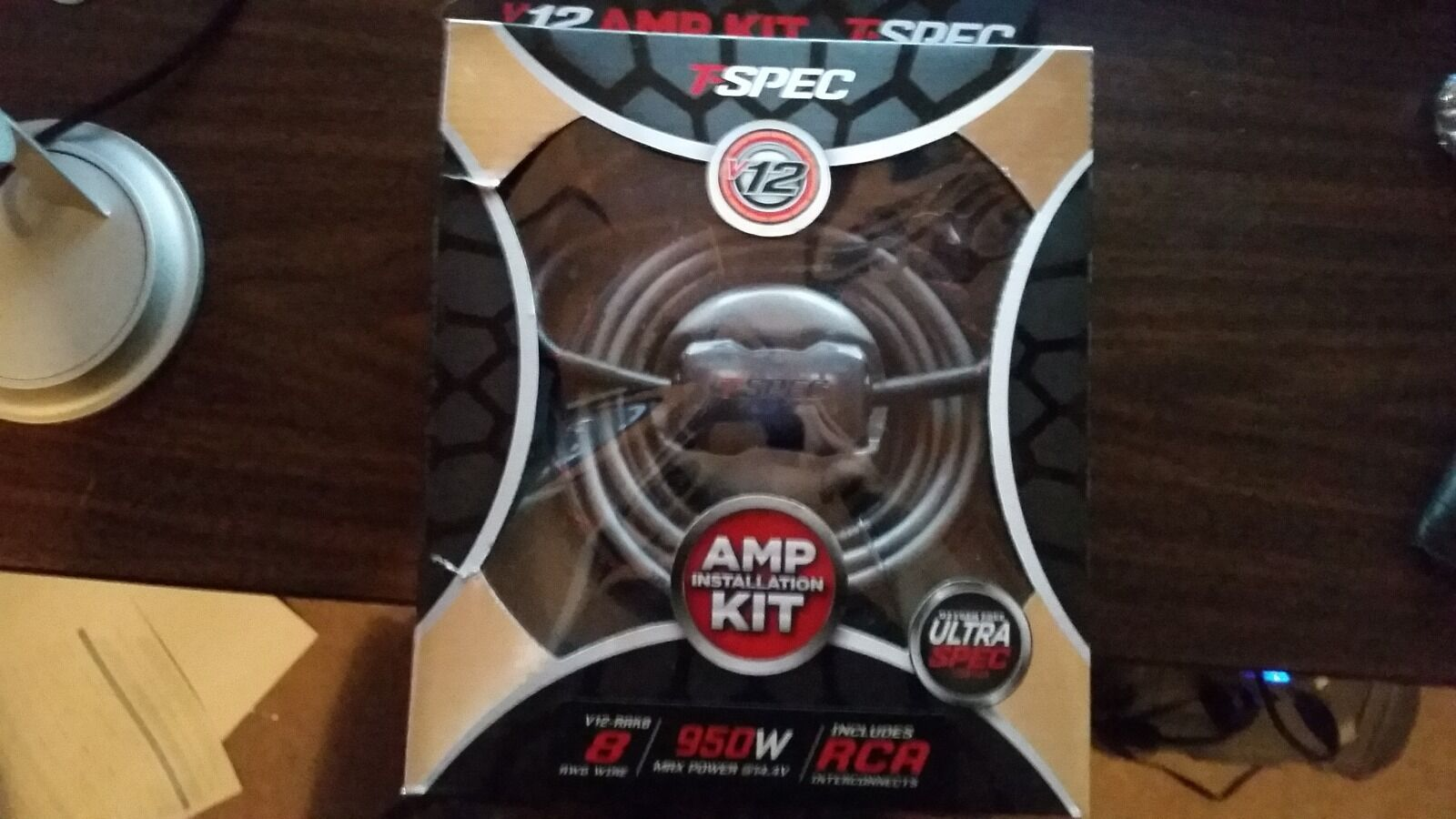 T Spec V12 8rak Complete Amp Installation Kit 8 Awg 950w With Rca Rockford Fosgate Rfk4i 4 Gauge Amplifier Wiring Cables Cable Ebay