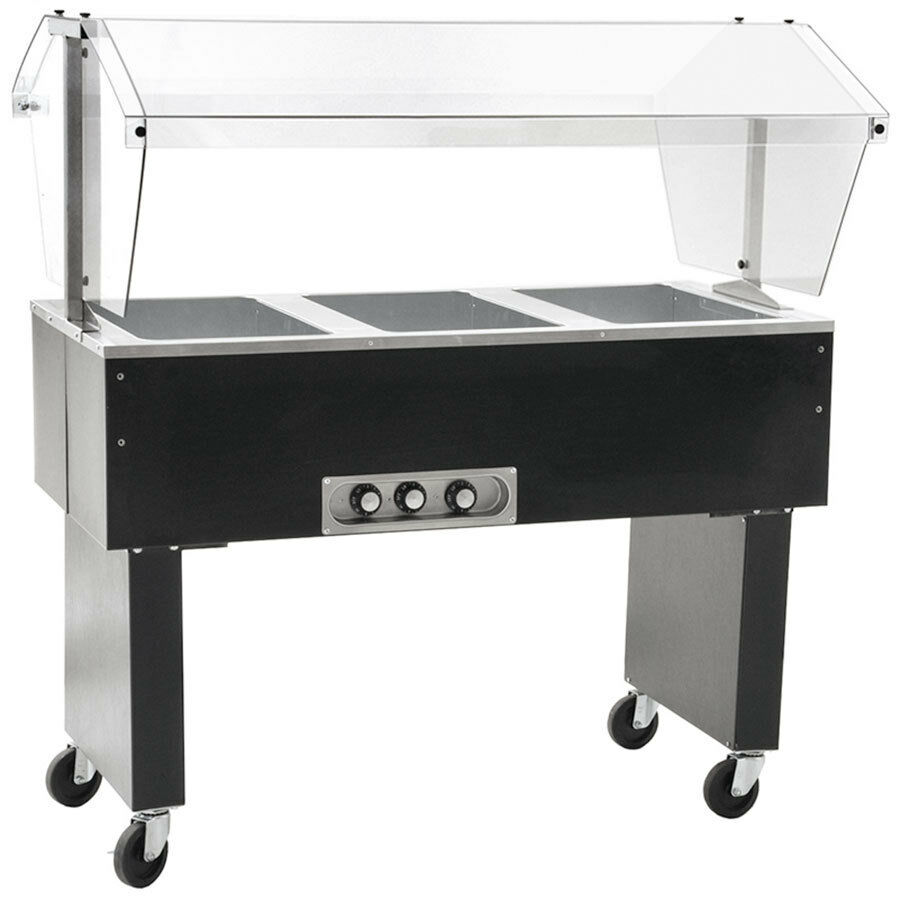 Eagle Group Deluxe Serving Mate Well Electric Hot Food Table - Electric hot food table