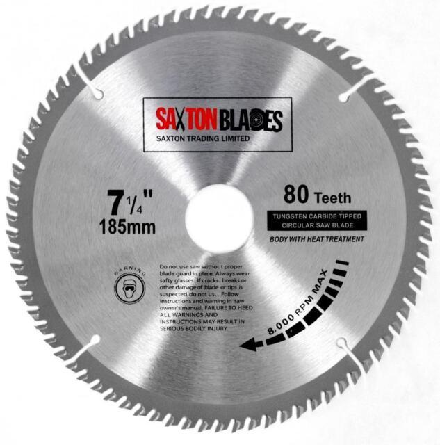 Saxton tct circular saw blade 185mm x 80t bosch makita dewalt fits saxton tct circular saw blade 185mm x 80t bosch makita dewalt fits 190mm saws keyboard keysfo Gallery