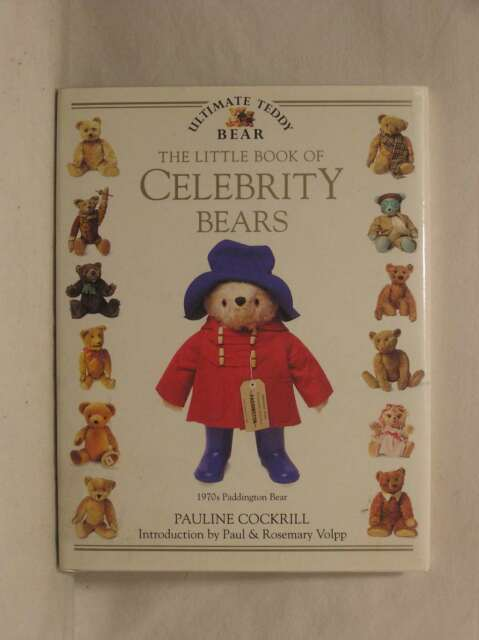 The Little Book of Celebrity Bears, Pauline Cockrill, Very Good Book