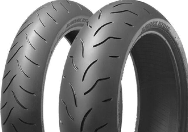 Bridgestone BT 016 Pro 190/55 ZR17 75W + 120/70 ZR17 58W Satz Set Reifen Paar