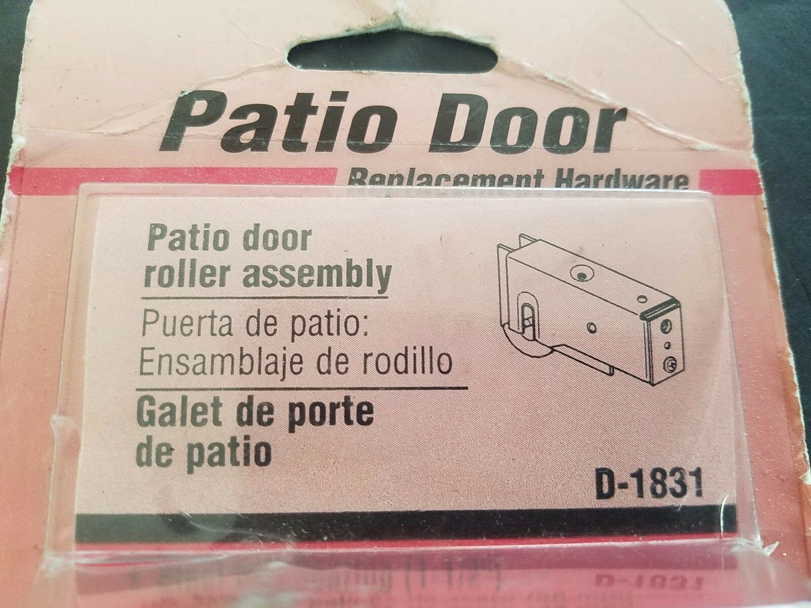 D 1831 Prime Line Products CD 1 1 2sliding Glass Door Roller