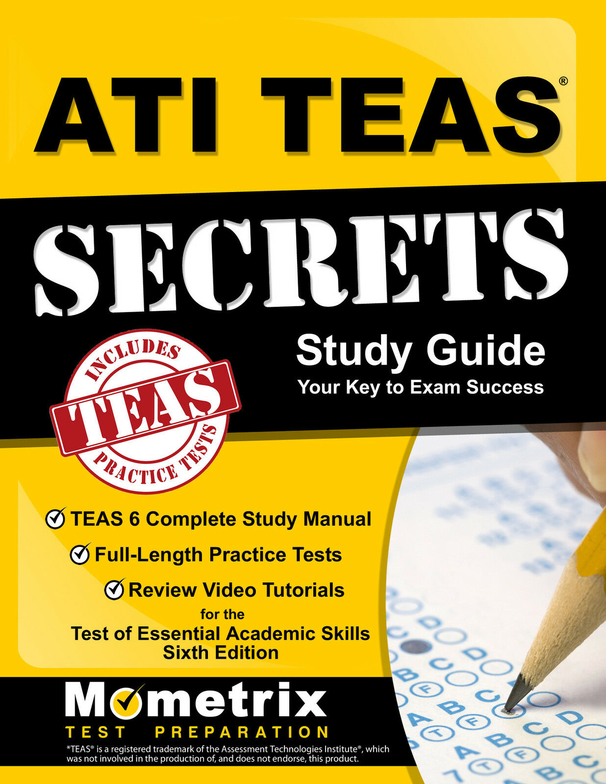 Ati books ebay ati teas secrets study guide fandeluxe Image collections