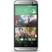 HTC One M8 (Latest Model)  16 GB  Glacial Silver ...