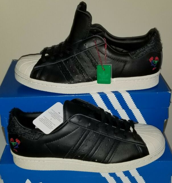 NEW AUTHENTIC ADIDAS SUPERSTAR 80s CHINESE NEW YEAR  SHOES US 10.5