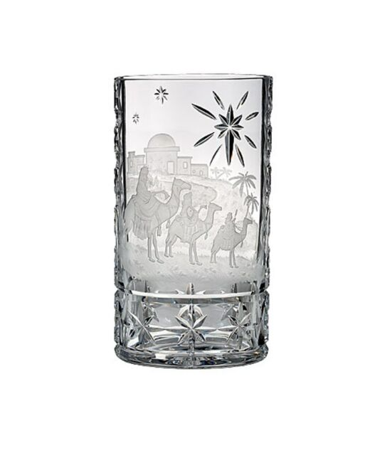 House Of Waterford Three Wise Men 10 Copper Wheel Engrave Crystal