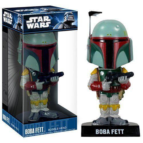 Star Wars - Boba Fett 18cm Bobble Head Wackelkopffigur OVP Funko
