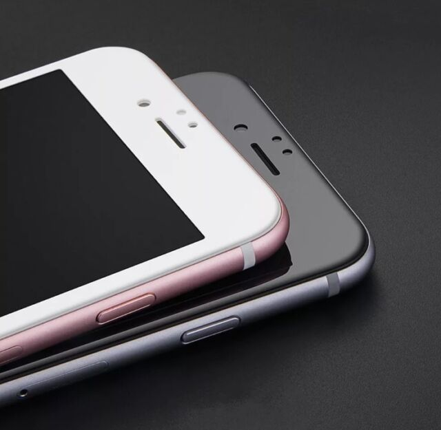 3D FULL COVER iPhone 6 6S WEIß Panzerglas Schutz Panzerfolie Weiss 9H