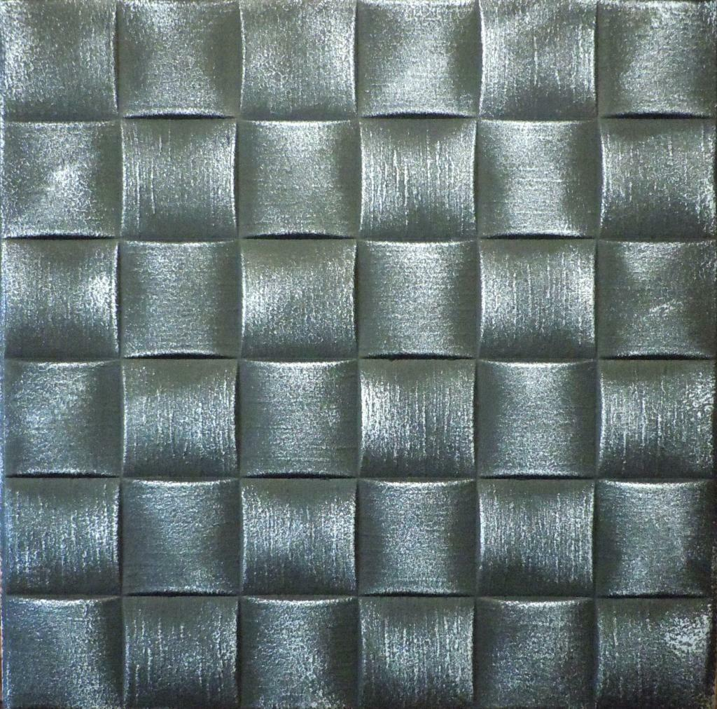 Decorative texture ceiling tiles glue up r25 black silver on ebay picture 1 of 1 dailygadgetfo Gallery