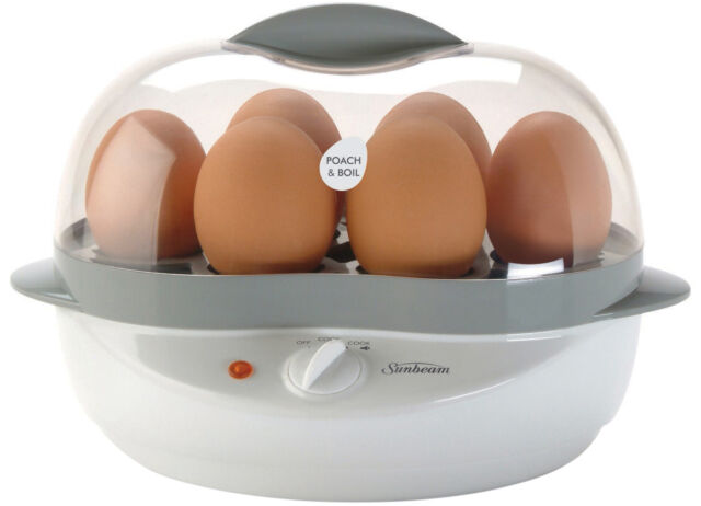 NEW Sunbeam EC1300 Poach & Boil Egg Cooker