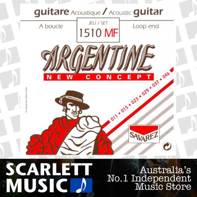 Savarez Argentine Gypsy Jazz Acoustic Strings Light Loop End 11-46 1510 MF