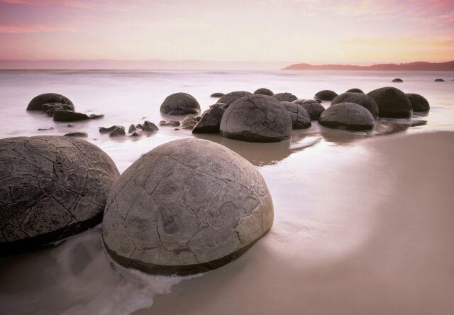 Fototapete Steine am Strand Moreaki Boulders 366 x 254cm (Art.285)