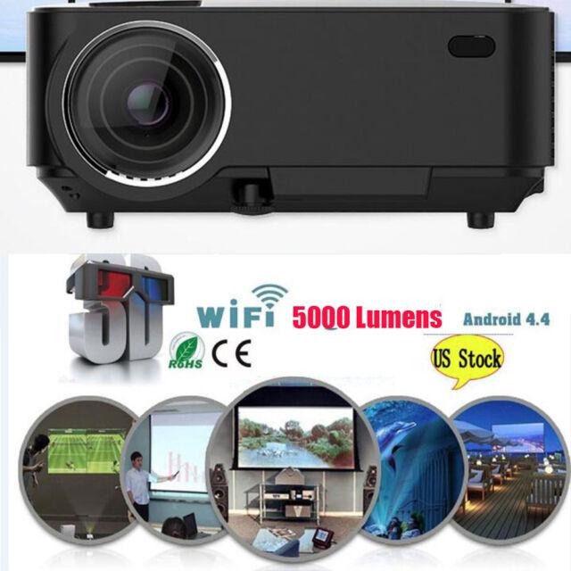 Full Hd Smart Dlp300b Mini Projector Lcd 3d Home Theater: 4k 3d WiFi DLP Mini Android Full HD 1080p Home Theater