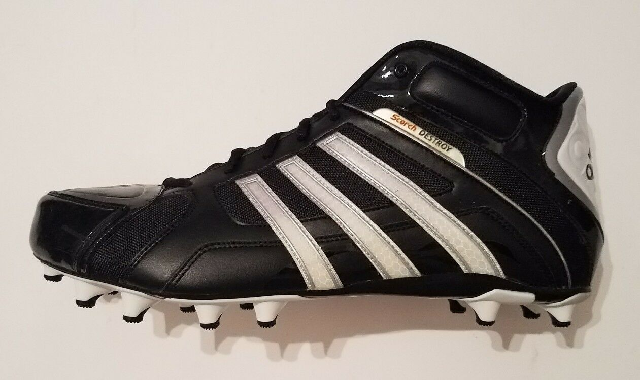 Adidas Football Shoes Molded Cleats Size 15