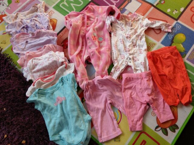 baby girls clothes bundle 0- 3 months