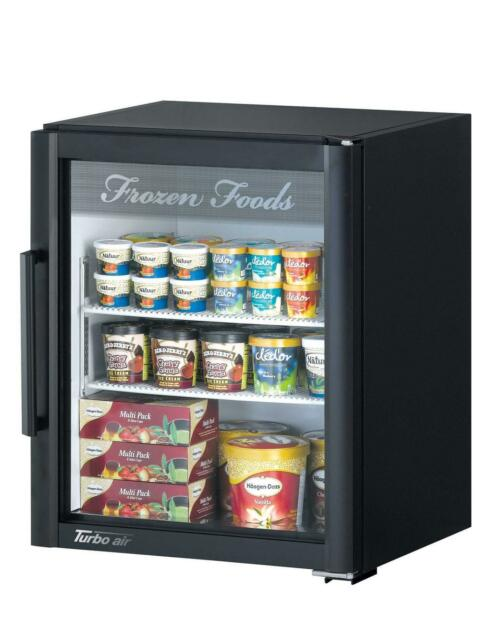 Turbo Air 5 9 Cu Ft Countertop Glass Freezer Merchandiser With 1 Door Tgf 5sd