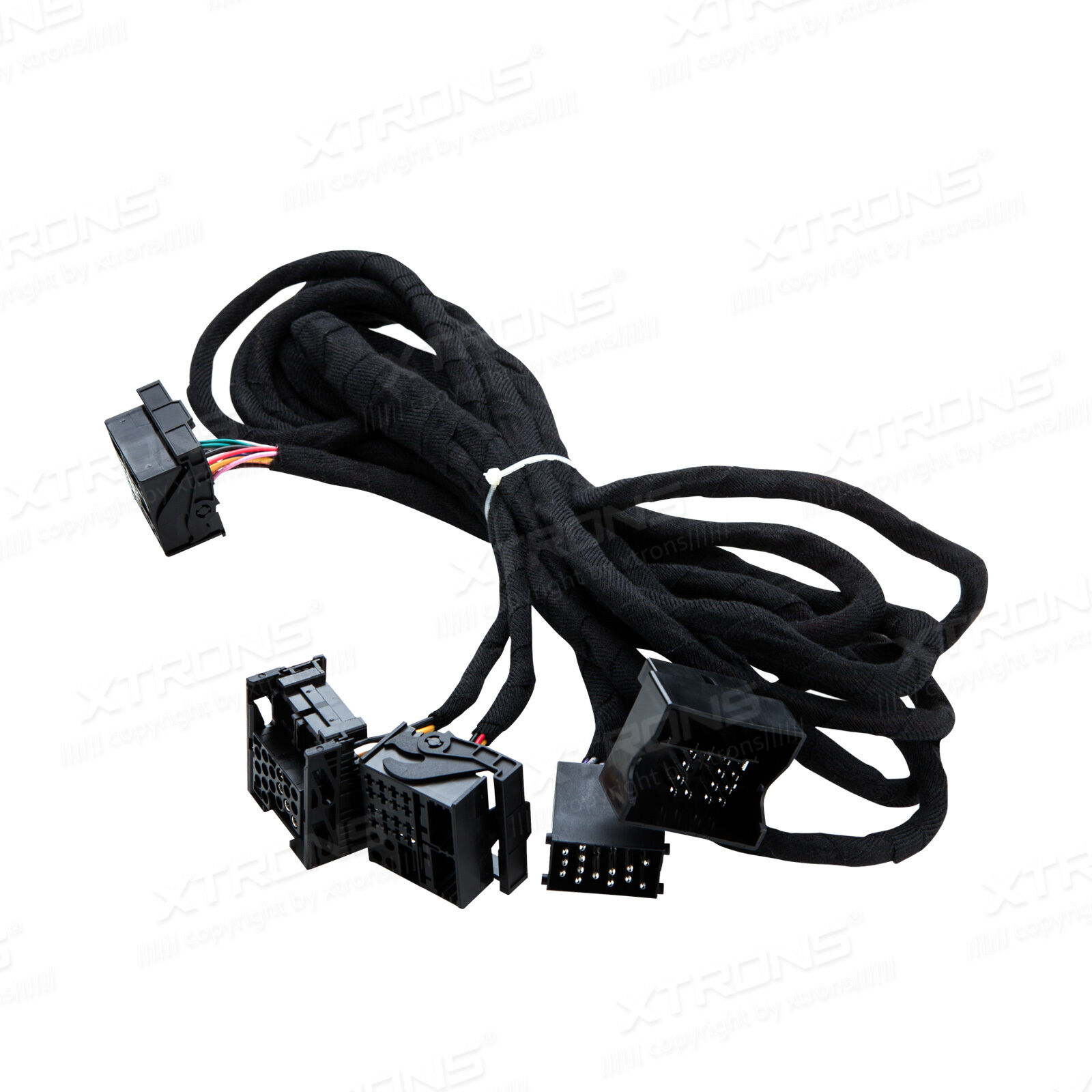 s l1600 car stereo iso wiring harness extra long 6m cable adapter for bmw xtrons wiring harness at gsmx.co