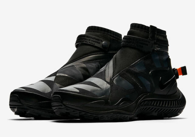 Nike NikeLab NSW Gaiter Boot Size 7-11.5 Olympics Black Anthracite AA0530  001