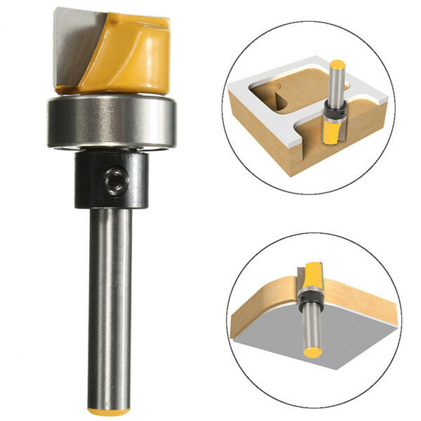 1/4 Inch Shank Hinge Mortise Template Router Bit Woodworking Milling ...