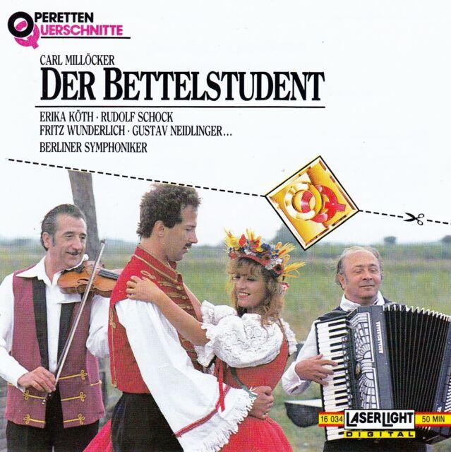 KARL MILLÖCKER : DER BETTELSTUDENT / CD