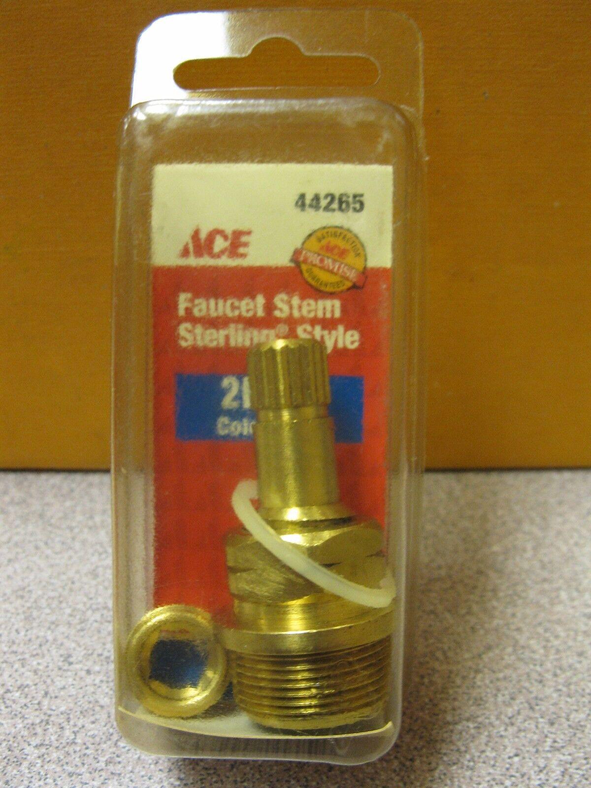 ACE Sterling Faucet Cold Stem 2l - 4c L Handle # 44265 | eBay