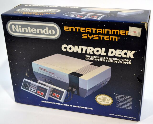 Nintendo Entertainment System Control Deck Brand New in Box!