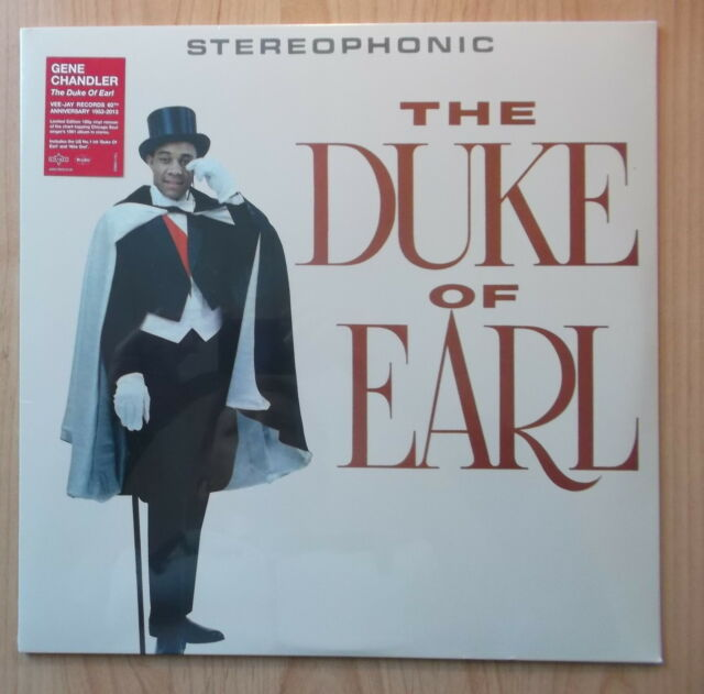 GENE CHANDLER LP: THE DUKE OF EARL (2013, NEU; 180 GRAM; LIMITED EDITION;REMAST)