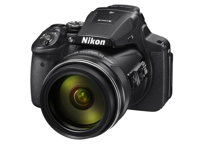 Nikon CoolPix P900 Cámara Digital P 900 negro NUEVO