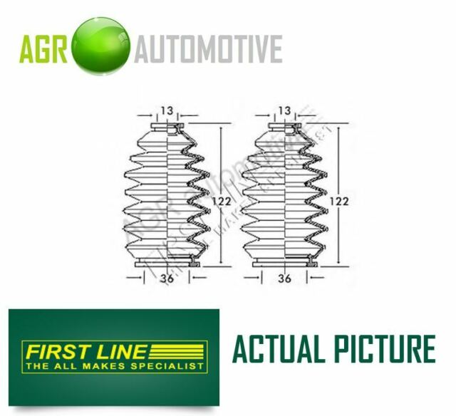 FIRST LINE FRONT STEERING RACK GAITER KIT OE QUALITY REPLACE FSG3142