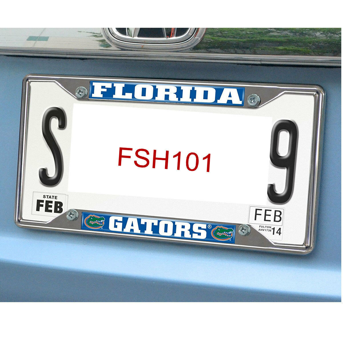FANMATS University of Florida Gators Chrome License Plate Frame | eBay