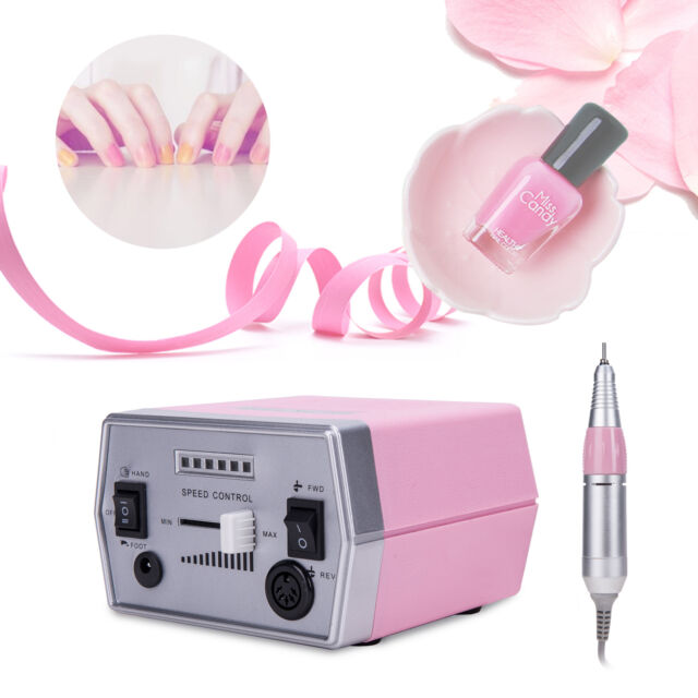 Professional Electric Nail File Drill Set for Manicure& Pedicure ...