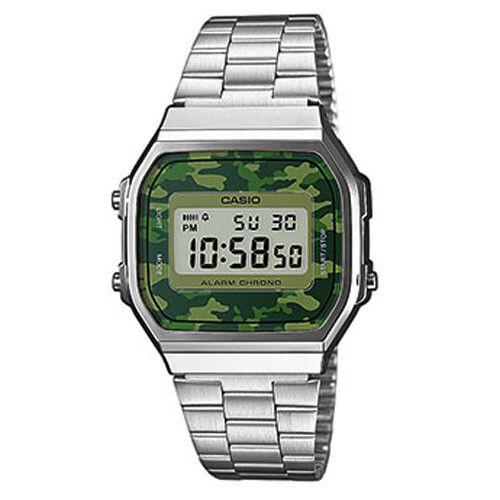 CASIO - Herrenarmbanduhr - A168WEC-3EF Camouflage - NEU - vom Casio-Händler