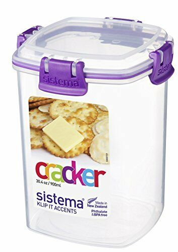 Sistema Klip It Cracker Storage Container   890 Ml | EBay
