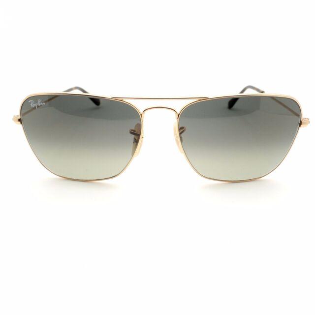 66b79939d4 Sunglasses Ray-Ban Caravan Rb3136 181 71 55 Gold Grey