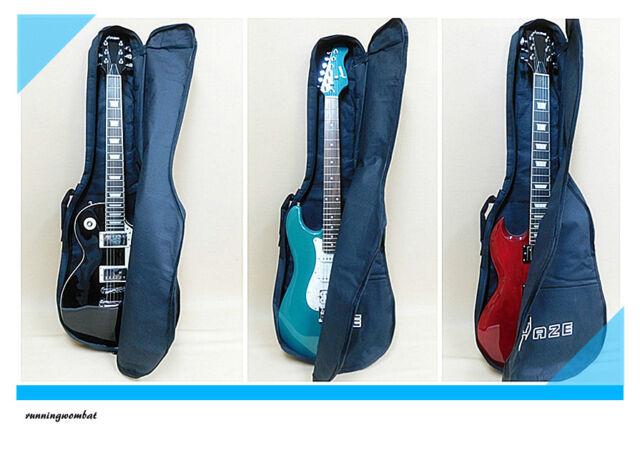 Haze Gig Bag for Electric Guitar Fits LP Tele Strat With free picks