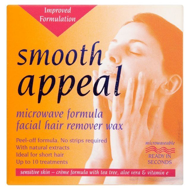 Smooth Eal Microwave Hair Removal Wax For Upper Lip Sideburns Chin
