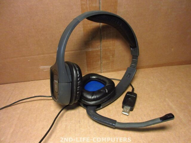 Plantronics Audio 655 DSP Digitales USB Stereo Headset Noise Cancelling MICROPHO