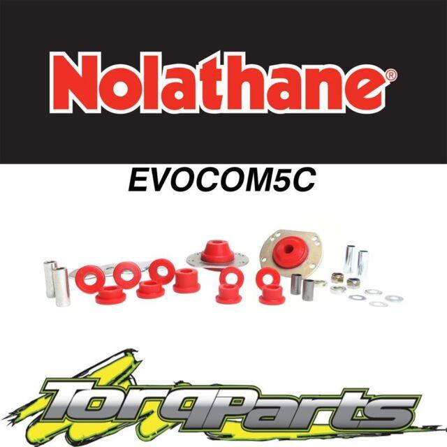 NOLATHANE FRONT BUSH KIT CONTROL ARM RADIUS ROD SUIT VT VX VY COMMODORE EVOCOM5C